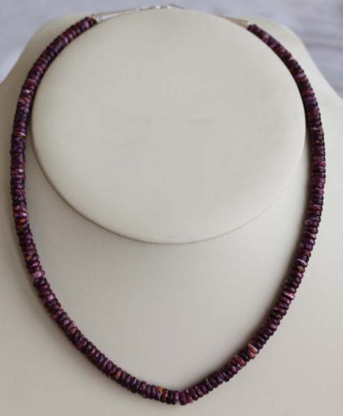 Navajo Spiny Oyster Nugget Necklace