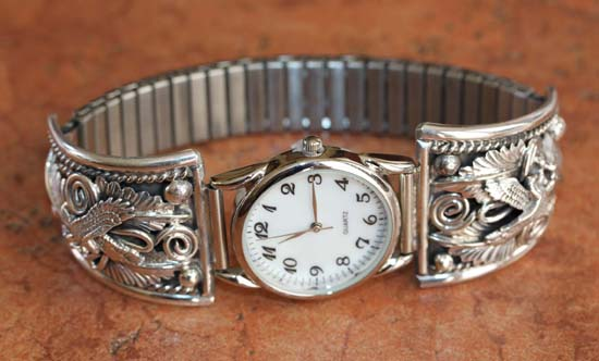 Navajo Silver Eagle Men's Watch