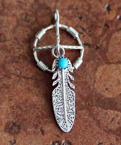 Navajo Medicine Wheel Pendant