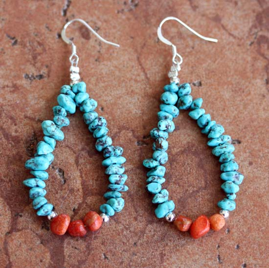 Navajo Nugget Earrings