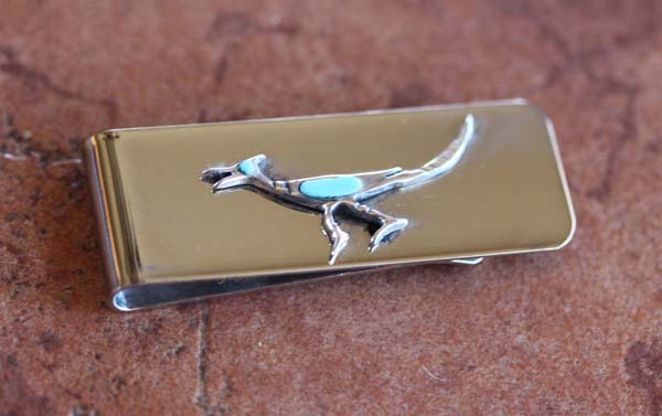 Navajo Road Runner Money Clip