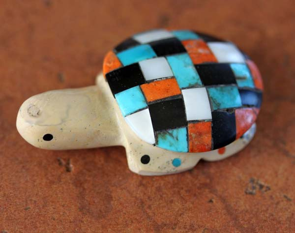 Zuni Handmade Turtle Fetish